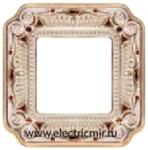 Изображение FD01361OPCL Рамка на 1 пост PATINE ORO BLANCO CRYSTAL DE LUXE