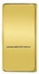 Изображение FD04311OB Клавиша узкая BRIGHT GOLD