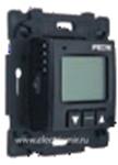 Изображение FD18000-M Электронный термостат для теплого пола черный FEDE
