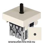 Изображение FD03140-A Поворотный выключатель двухклавишный бежевый 10А FEDE
