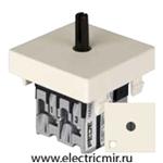 Изображение FD03111-A Поворотный выключатель с подсветкой бежевый 10А FEDE