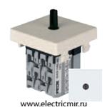 Изображение FD03130 Поворотный выключатель с 3-х мест белый FEDE