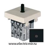 Изображение FD03130-M Поворотный выключатель с 3-х мест черный FEDE