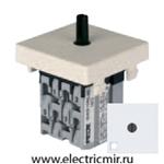 Изображение FD03131 Поворотный выключатель с 3-х мест с подсветкой белый FEDE
