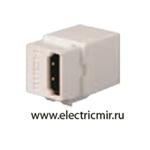 Изображение FD-210HD Разъем HDMI, контакты с золотым напылением белый FEDE