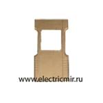 Изображение FD18-COVG Декоративная крышка для термостата золото FEDE