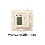 Изображение FD18004-A Терморегулятор цифровой с LCD монитором бежевый FEDE