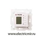 Изображение FD18004 Терморегулятор цифровой с LCD монитором белый FEDE