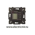 Изображение FD18004-M Терморегулятор цифровой с LCD монитором черный FEDE