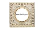 Изображение FD1005COP Светильник точечный из латуни, золото с белой патиной SQUARE FEDE