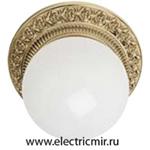 Изображение FD1013SOB Светильник накладной точечный из латуни, блестящее золото BILBAO FEDE