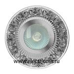 Изображение FD1019RCBTR Светильник точечный из латуни IP44, прозрачное стекло блестящий хром FEDE