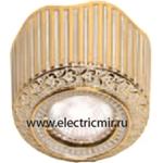 Изображение FD1017SOP Светильник накладной точечный из латуни, золото с белой патиной SAN SEBASTIAN SURFACE FEDE