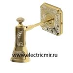 Изображение FD1021WOP Светильник настенный из латуни, золото с белой патиной FEDE