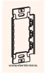 Изображение ASB 1511 Пластина крепежная металлическая Anam Zunis Legrand