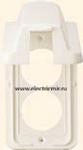 Изображение 6751 57I Накладка розетки 2ой вертикальной с крышкой бежевая Anam Zunis Legrand