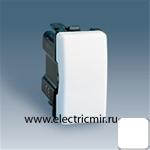 Изображение 27251-64 Выключатель проходной с 3х мест узкий белый Simon