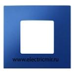 Изображение 2700617-064 Рамка-декор 1 пост синяя Simon