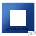 Изображение 2700637-064 Рамка-декор 3 поста синяя Simon