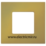 Изображение 2700617-081 Рамка-декор 1 пост Артик желтый Simon