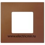 Изображение 2700617-082 Рамка-декор 1 пост Артик оранжевый Simon