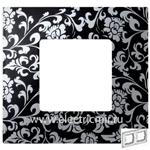 Изображение 2700627-804 Рамка-декор 2 поста черное ретро Simon