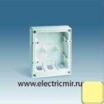 Изображение 27861-32 Коробка монтаж. для рамки 27851 слоновая кость Simon