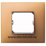 Изображение 27771-64 Рамка 1 пост Neos оранжевая Simon
