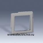 Изображение 2705088-063 Перходник для механизмов серии 27 серый Scudo Simon