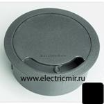 Изображение TS10-14 Кабелтный ввод для стола или фальш-пола графит, d102 Simon
