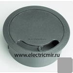 Изображение TS10-8 Кабельный ввод для стола или фальш-пола алюминий, d102 Simon