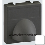 Изображение К10-9 Плата для вывода кабеля ,45х45мм, белая Simon