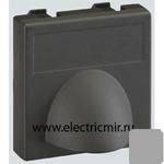 Изображение К10-8 Плата для вывода кабеля ,45х45мм, алюминий Simon