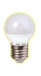 Изображение Лампа светодиодная шарик Е27 7W 2700K 450Lm Электромир