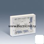 Изображение 27866-65 Коробка для наружного монтажа накладки 27721-35, 250х188х53 Simon
