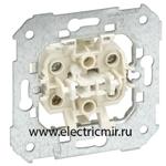 Изображение 75133-39 Выключатель двухполюсный, механизм, 16А 250В, Simon 82, 82N, 88