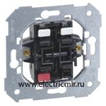Изображение 753956-39 Кнопка двойная нормально разомкнутая, механизм, 10А 250В, Simon 82, 82N, 88