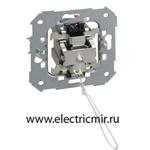 Изображение 75153-39 Кнопка со шнуром, механизм, 10А 250В, Simon 82, 82N, 88
