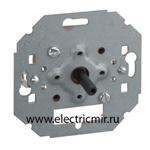 Изображение 75233-39 Выключатель поворотный на 4 положения, механизм, 10А 250Вт, Simon 82, 82N, 88