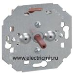 Изображение 75234-39 Выключатель поворотный на 3 положения, механизм, 10А 250Вт, Simon 82, 82N, 88