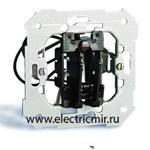 Изображение 26550-39 Переключатель карточный, 2 микровыключателя с индикацией, механизм, 6А 250Вт Simon 82, 82N, 88