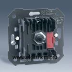Изображение 75312-39 Регулятор напряжения поворотно - нажимной с подсветкой, переключатель, механизм, 100-1000Вт 230В, Simon 27, 82, 82N, 88