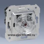 Изображение 75305-69 Регулятор напряжения нажимной с подсветкой, 40-500Вт 230Вт, механизм, Simon 82, 82N, 88