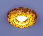 Изображение Встраиваемый светильник со светодиодами 3020 желтая подсветка (YL/Led)