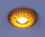 Изображение Встраиваемый светильник со светодиодами 3030 желтая подсветка (YL/Led)