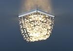 Изображение Встраиваемый потолочный светильник 2009 хром/прозрачный (CH/Сlear)