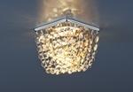 Изображение Встраиваемый потолочный светильник 2009 хром/тонированный/прозрачный (СH/GC/Clear)