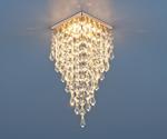 Изображение Встраиваемый потолочный светильник 2010 золото/прозрачный (FGD/Clear)