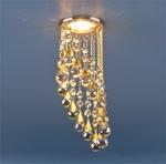 Изображение Встраиваемый потолочный светильник 2013 золото/тонированный (FGD/GC)