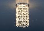 Изображение Встраиваемый потолочный светильник 2025 хром/прозрачный (CH/Сlear)